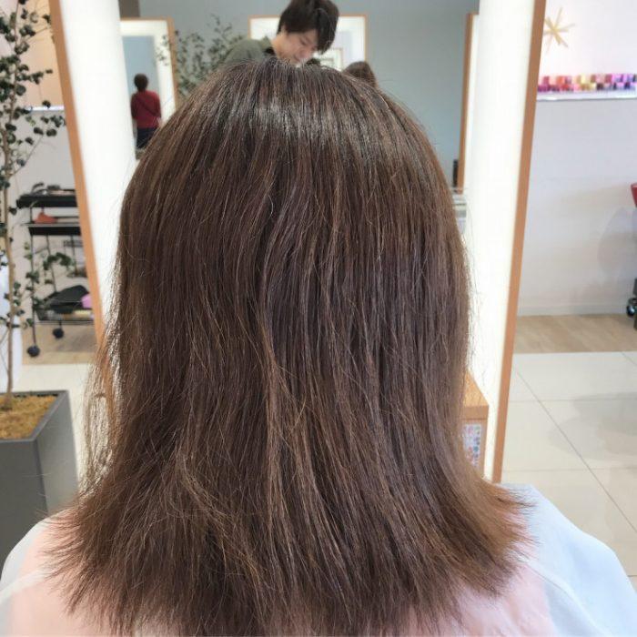 美髪なヘアカラー